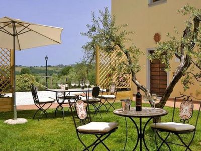 Photo for Agri-tourism Le Torri, Barberino Val d'Elsa  in Um Florenz - 4 persons, 2 bedrooms