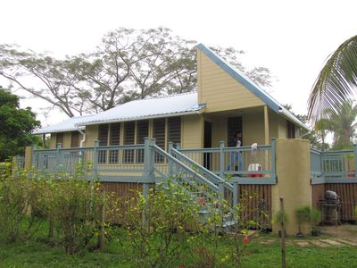 River View Farm and Retreat. A home in the Community Baboon Sanctuary, Belize
