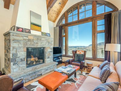 Photo for Luxury Ski-In/Ski-Out Four Story Mountain Village Townhome