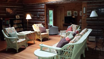 Photo for Cozy renovated cabin in Williamstown, steps from hiking trails