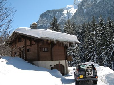 Photo for independent Savoyard chalet resort La Clusaz 8 persons