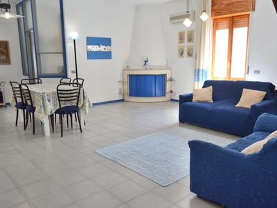 Photo for On the seafront, wifi, in the heart of Sant'Antioco, close to restaurants and amenities.