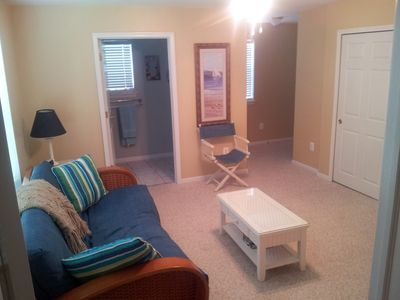 Photo for Minutes from the Convention Center, beach and boards.FOR RENT ALL YEAR LON