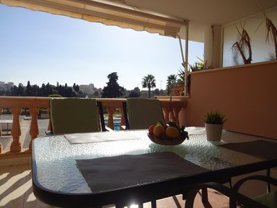 Photo for Holiday Palmyra - with a beautiful view!Luxury comfortable apartment in Cala Bona