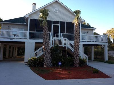 Photo for Beautiful Ocean View 3 Bedroom Beach House - Great Location - 3BR/2BA