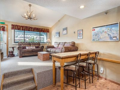 Photo for Ski-In / Ski-Out Slopeside Sunday River Condo with Hot Tub, Outdoor Pool & Sauna