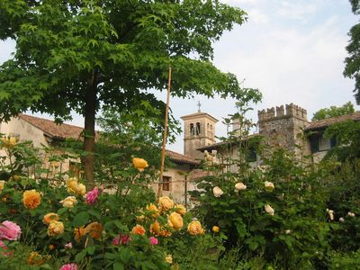 Photo for Lovely stone home with garden, in a castle near beach and 1 hour from Venice - 3