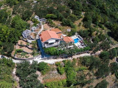 Photo for Beautifull villa in nature with complete privacy and heated pool