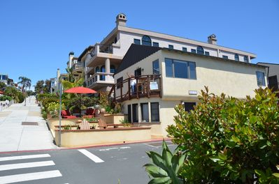 Welcome to Beach Bungalow! Upper unit and front patio are yours to enjoy.