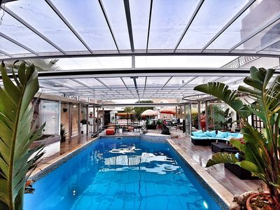 Photo for Colours - a fairytale setting, heated and covered pool, Apartment Yellow
