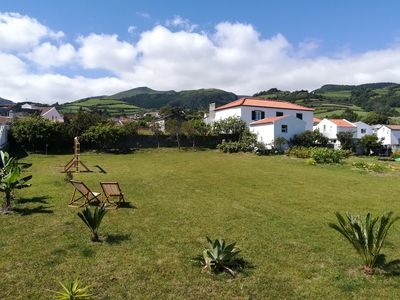 Photo for Family friendly house situated next to the beaches in the center of the island