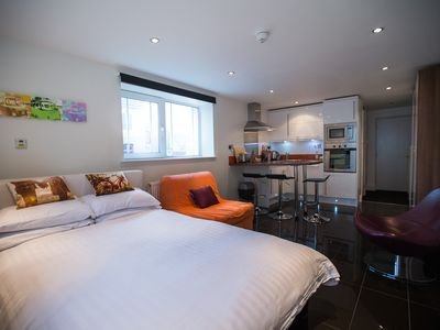 Photo for The perfect Woolacombe Beach studio for couples and small families.