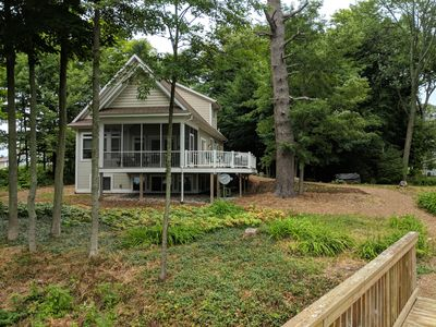 Photo for Beautiful Views & Beach; Attractive Lake Michigan Home; Wonderful Vacation