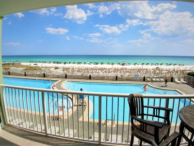 Photo for Make Memories! Beautiful Beachfront Condo - Incredible view right on the beach!