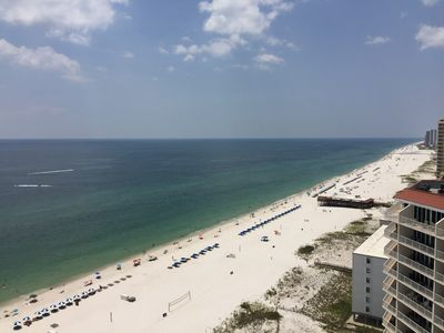 Photo for Premium Gulf Front Condo in Lighthouse!  Sleeps 6!