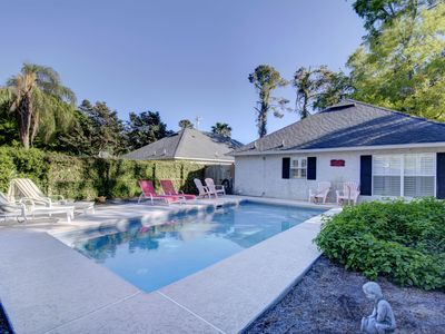 Photo for Village Area Cottage with Private Pool