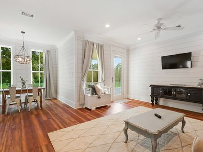 Beachfront 1 bedroom on the beach in Bay St Louis. Walking distance to Main St!