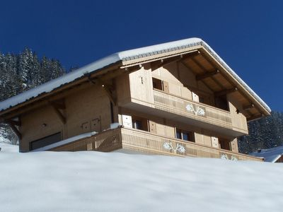 Photo for BEAUTIFUL CHALET 4/15 pers.  Nearest station - Panoramic View - Quiet
