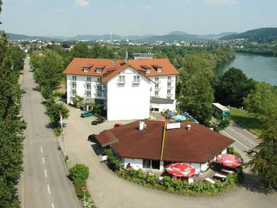 Photo for Double room with toilet and shower, 1 - 3 persons - Hotel am Hochrhein