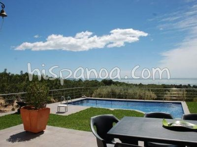 Photo for Villa in Ametlla de Mar facing the sea with stunning outdoor
