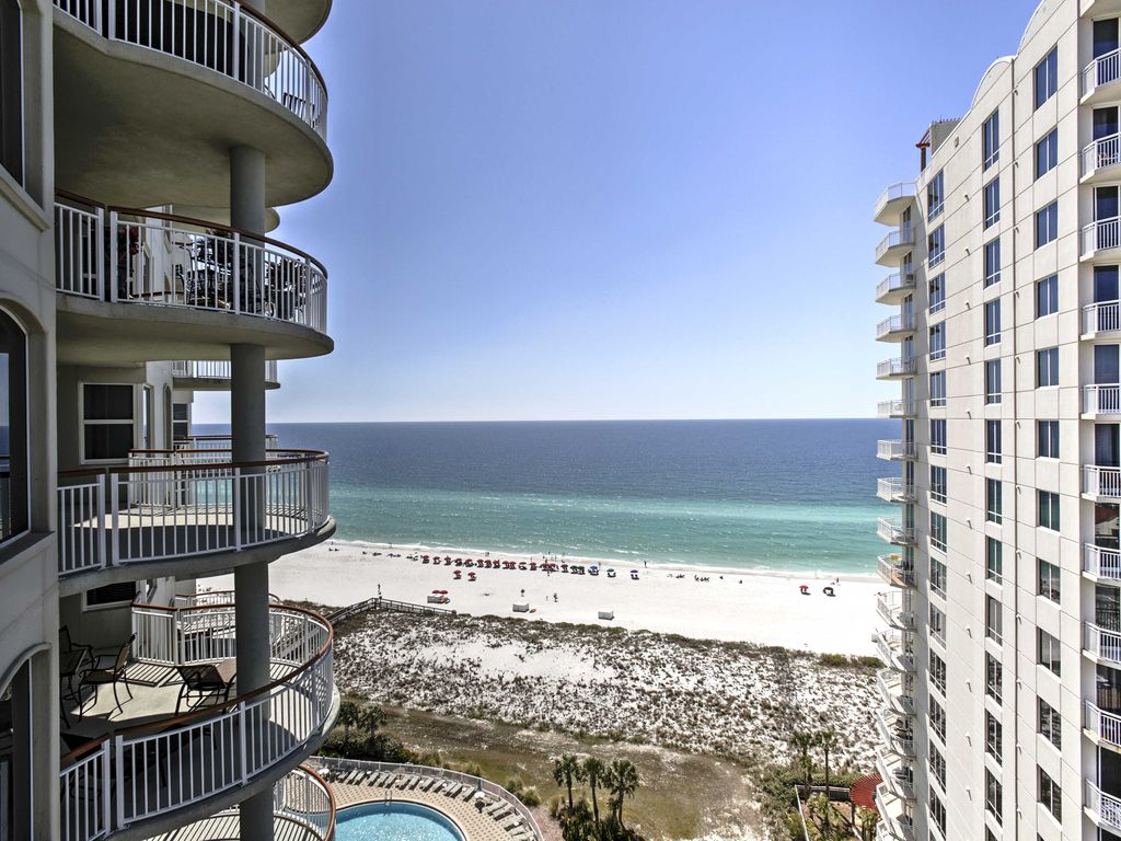 New Beachfront 3br Navarre Beach Condo W Balcony Navarre Beach Navarre Florida Panhandle