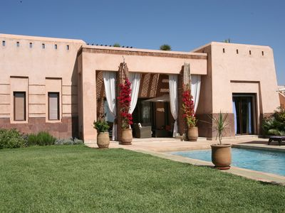 Photo for Detached Villa with private pool in Apple Gardens Resort and Spa, Marrakech