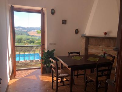 Photo for Spacious apartment for 5 in beautiful Villa with private pool
