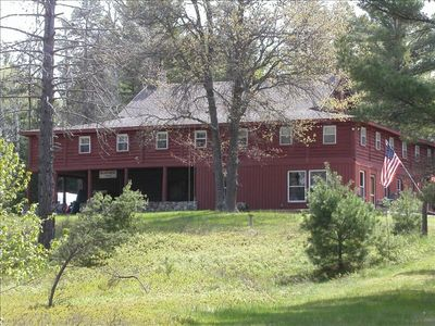 Photo for Bear Creek Lodge - Historic Riverfront Lodge on 120 Wooded Acres!