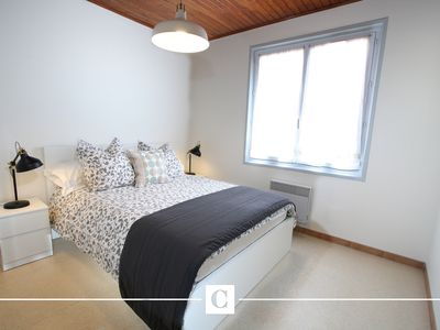 Photo for Premium apartment 1st floor by the sea and Contis beach, wifi, beds made