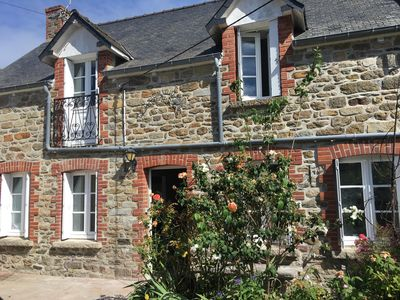 Photo for Charming house Saint-Briac sur mer, near beaches, sleeps 8