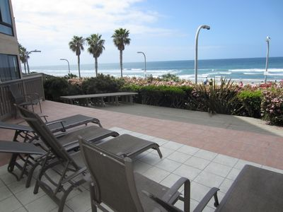 Photo for Totally Remodeled Beautiful Pacific Beach Condo Steps to the Beach, Great Views