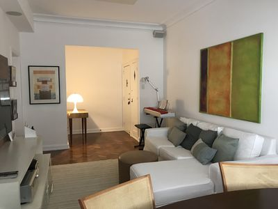 Photo for Charm and Style in Ipanema, practical newly renovated apartment, 1 block from the beach