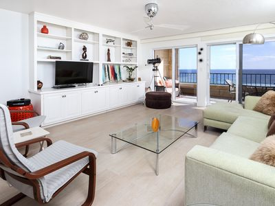 Photo for Surf Dweller 703: TOP-Floor, Beautifully Upgraded,Modern,SPACIOUS,Gulf Front!
