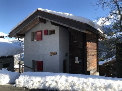 Photo for Apartment Chalet Stubulti in Ried-Mörel - 4 persons, 2 bedrooms