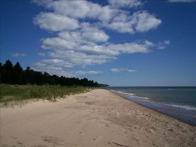 Solitude and the best beach on Michigan's Sunrise Side