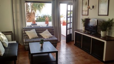 Photo for Beautiful modern 2 bed apartment with a stunning sea view and close to the beach