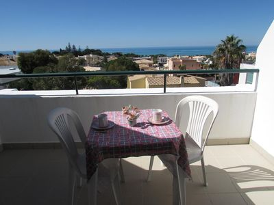 Photo for APARTMENTS TERRACE FACING SEA PRIVATE RESIDENCE WITH SWIMMING POOL (400 M BEACH)