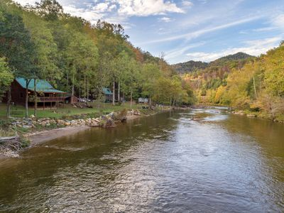 Photo for Pet-friendly cabin with riverfront access - great for fishing!