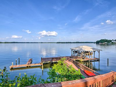 Photo for NEW! Waterfront Weiss Lake Getaway w/Dock & Patio!