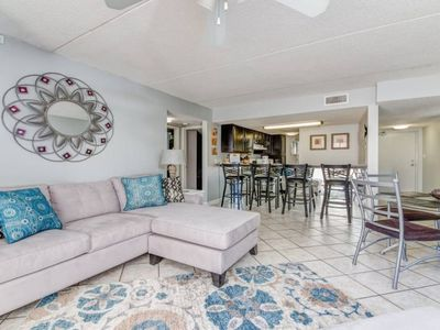 Photo for Family friendly Sugar Beach on sugar white beaches- 3 pools, tennis court, & Snack Shack  Welcome to