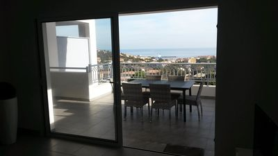 Photo for BEAUTIFUL APARTMENT IN RESIDENCE STANDING UP BEAUTIFUL SEA AND MOUNTAIN