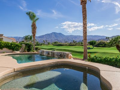 Photo for Breathtaking views from your private pool & spa in PGA West