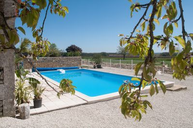 Pool open and heated May-Sep