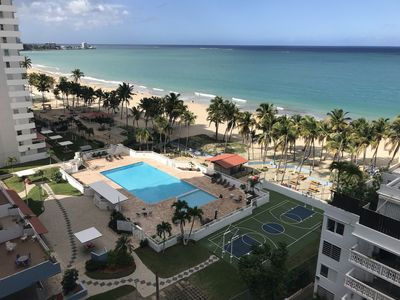 Photo for 2 bed Isla Verde Apartment - Steps from Beach
