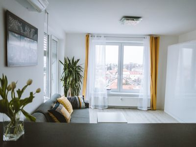 Photo for Design apartment, the city centre close to the famous Piestany health spa