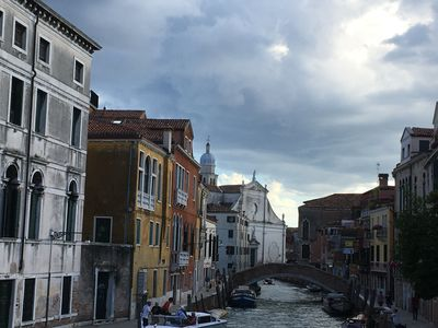 Photo for Magnificent apartment in Venice with garden and large terrace for 14 people
