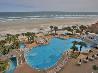 Photo for Beautiful  Ocean Front Condo at the Wyndham Ocean Walk - Great Rates!!!