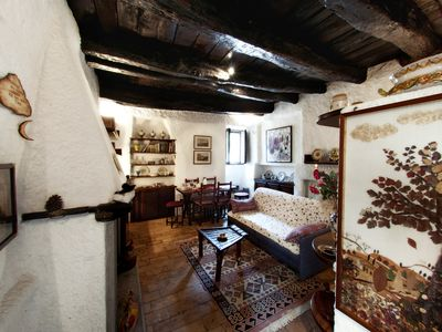 Photo for HOLIDAY HOUSES IN MEDIEVAL VILLAGE OF MAZZANO Roman-HOUSE GRAZIELLA