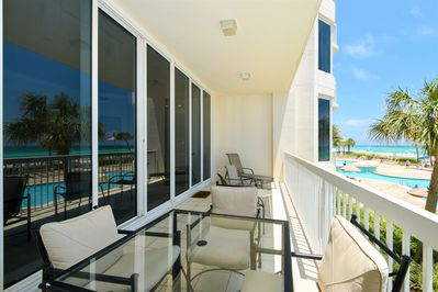 3 Silver Beach Towers West 202 - Balcony View