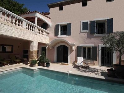Photo for A luxury family holiday rental with private pool in the heart of Provence